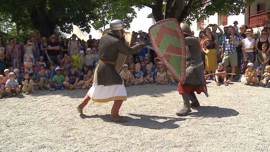 Leben wie ein Ritter auf Schloss Lenzburg