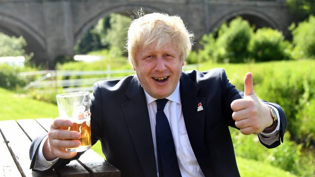 Boris Johnson ist ein Brexit-Befürworter.