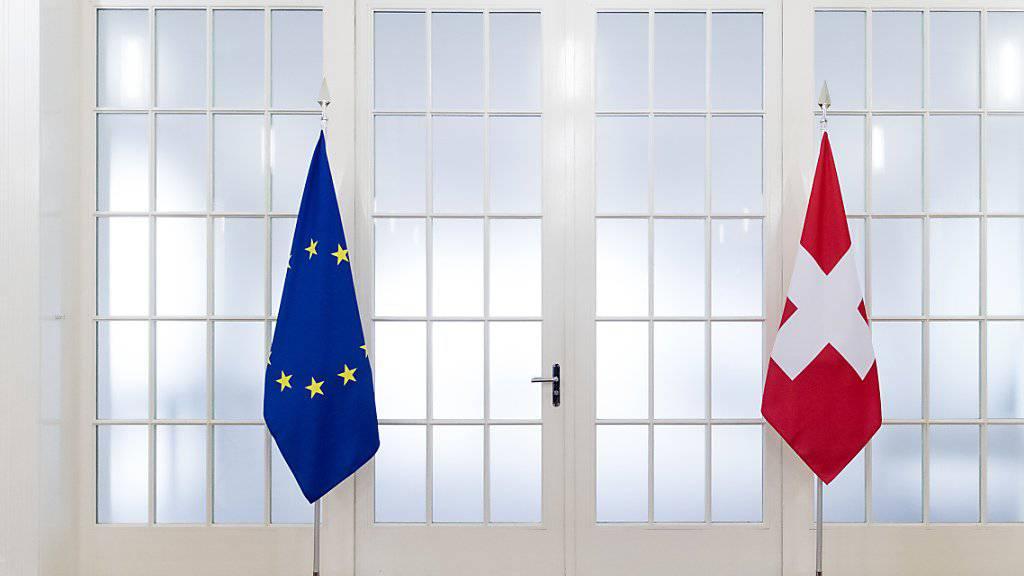 Die Verhandlungen mit der EU über einen Rahmenabkommen gehen weiter. Die Kohäsionsmilliarde will der Bundesrat freigeben.