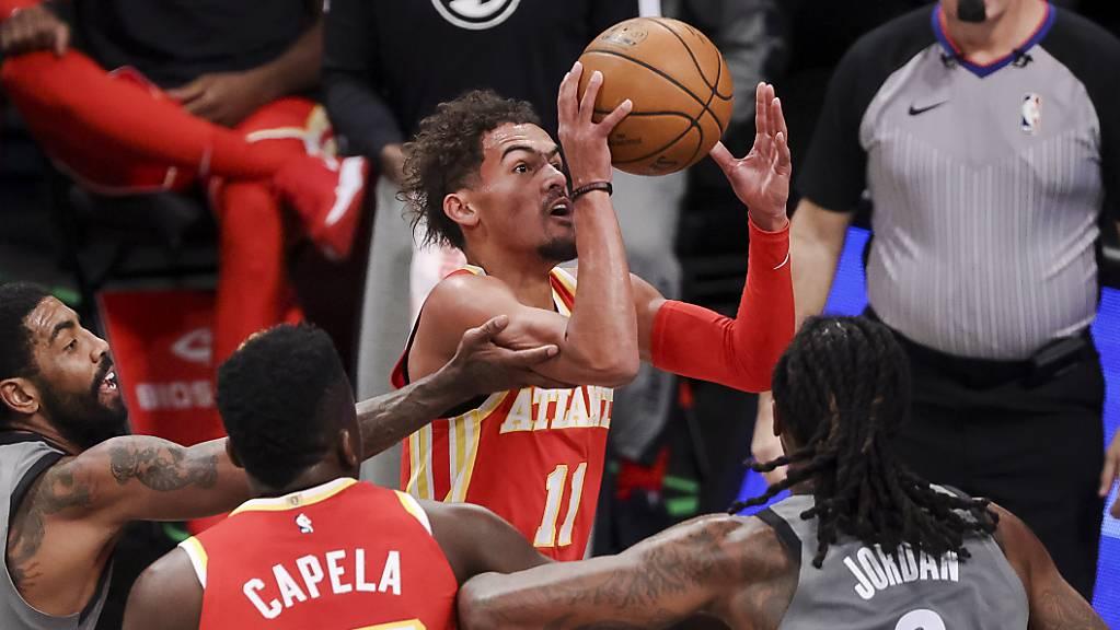 Die Atlanta Hawks mit Clint Capela sind mit vier Siegen und nur einer Niederlage eines der besten Teams in der NBA.