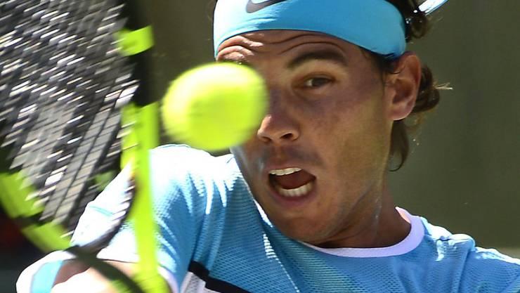 Rafael Nadalgab sich gegen Kei Nishikori keine Blösse