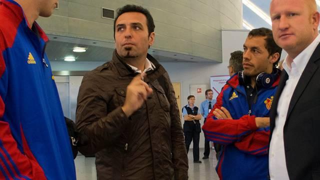 Heiko Vogel (rechts) setzt auf die Neuzugänge Gaston Sauro (links) und Marcelo Diaz (neben Vogel).key