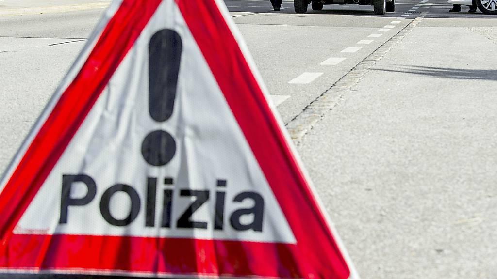 Töfffahrer bei Unfall im Tessin schwer verletzt