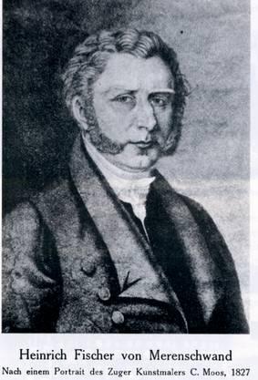 Der zweitberühmteste Merenschwander «General» Heinrich Fischer (1790-1861), Schwanenwirt und Anführer des Freiämtersturms von 1830