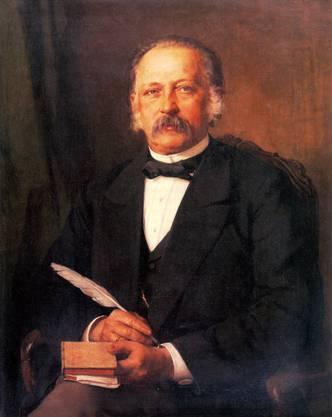 Schriftsteller Theodor Fontane