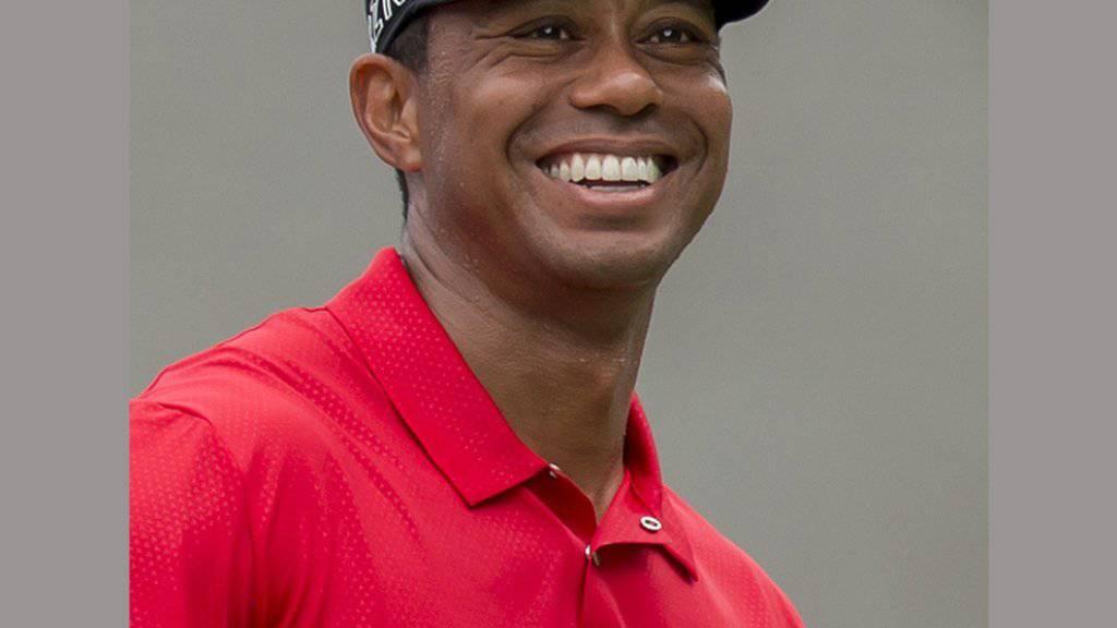 Hat derzeit nicht viel zu lachen: der verletzte Golf-Superstar Tiger Woods