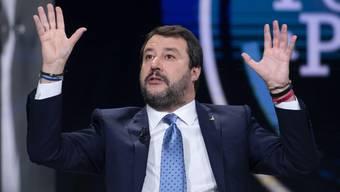 Der ehemalige italienische Innenminister Matteo Salvini hat die Betreuungsstrukturen für Asylsuchende massiv heruntergefahren: