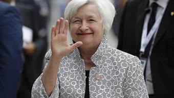 Vorerst alles wie bisher: Fed-Präsidentin Janet Yellen (in einer Aufnahme vom Mai dieses Jahres am G7-Gipfel in Bari, Italien).