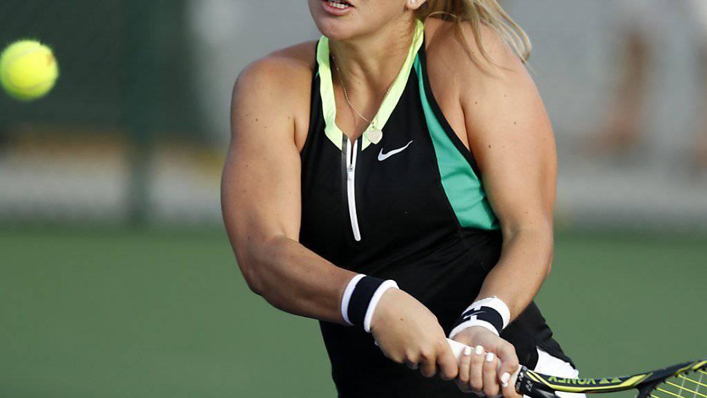 Das Handgelenk macht Bencic am ITF-Turnier von Croissy-Beaubourg einen Strich durch die Rechnung
