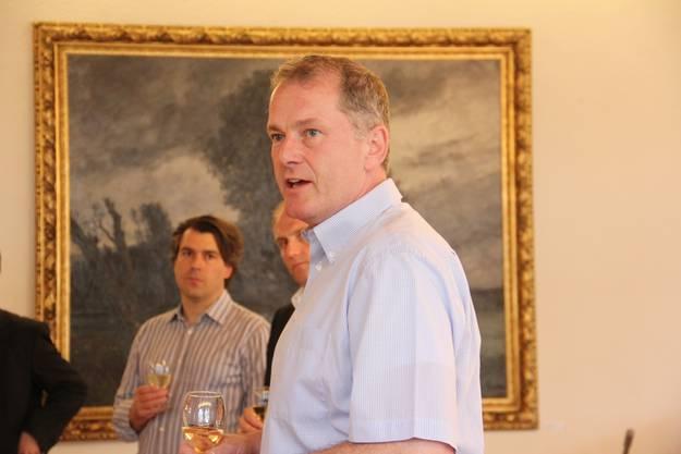 Regierungsrat Stephan Attiger im Brugger Ratshaussaal