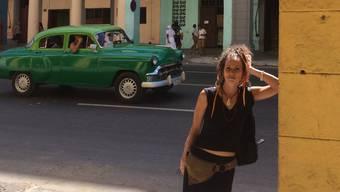 Architektin Christine Heidrich auf Recherche in Havanna.