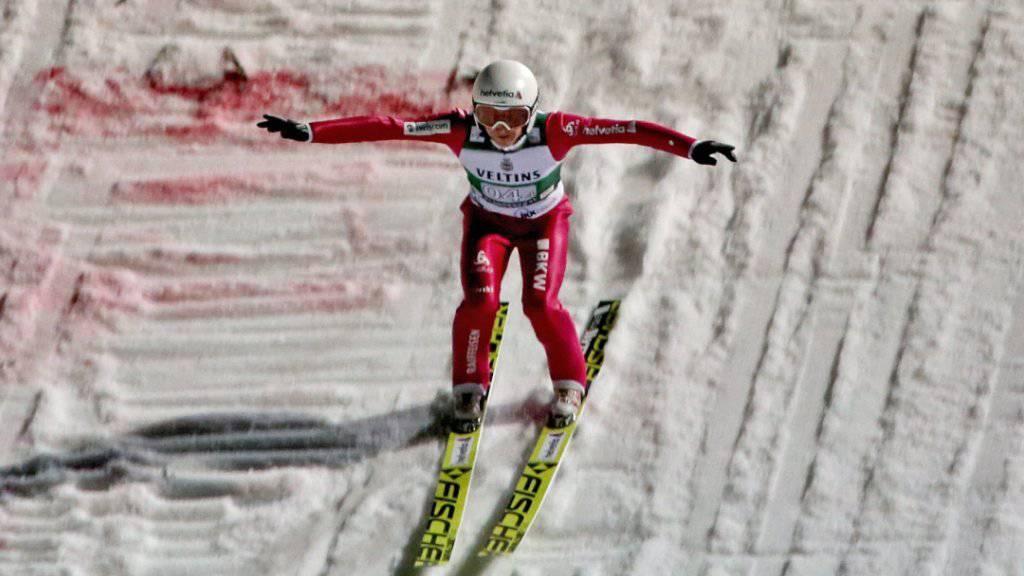 Simi Ammann mit Top-Ten-Resultat trotz Schwächen bei der Landung