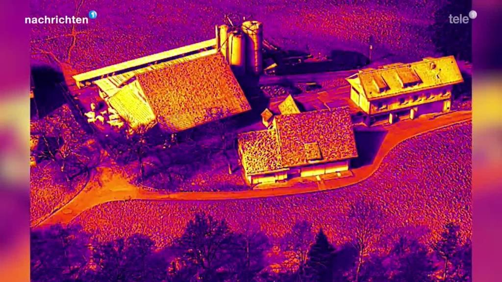 Stützpunktfeuerwehr Zug setzt neu Drohnen bei Bränden ein