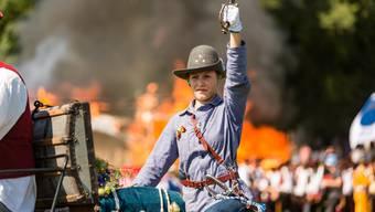 Das Freischarenmanöver am Jugendfest Lenzburg 2018
