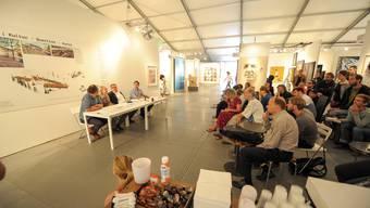 Kunstmesse Scope und die Wagenleute