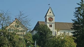 Pfarrhaus und reformierte Kirche Birmensdorf