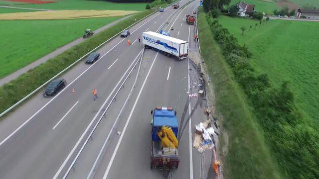 Solothurner Transportunternehmen verursacht Horror-Crash