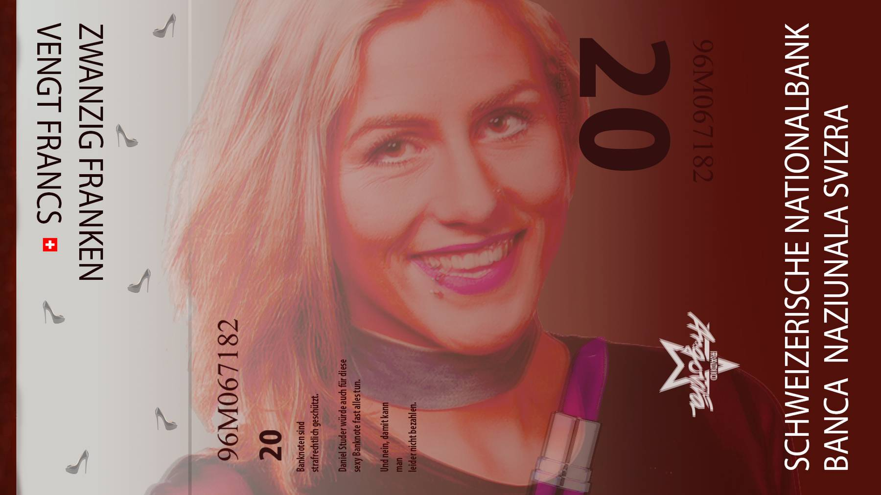 Neue Argovia 20er Note Dara FINAL