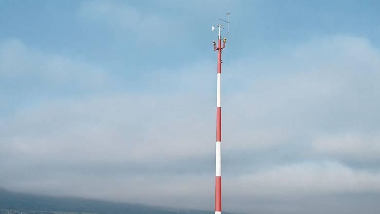 Die Wetterstation neben der Segelflugpiste hat nur am Rande etwas mit dem Airport zu tun.