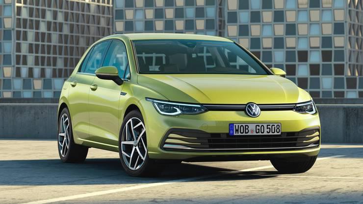 Sachlich, schlicht und ohne Effekthascherei: der neue VW Golf. Bild: HO