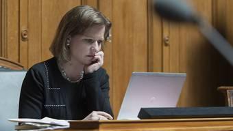 Unter Rechtfertigungs-Druck: FDP-Nationalrätin Christa Markwalder.