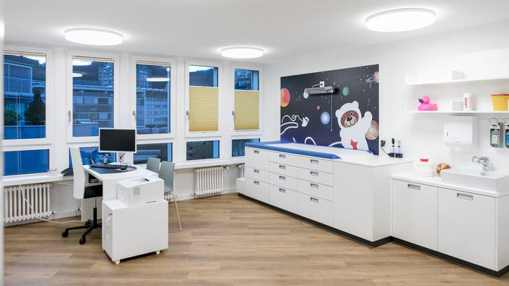 Zu wenig Ärzte in der Region Baden. Das neue Kinderarzthaus in Baden wird überrannt.
