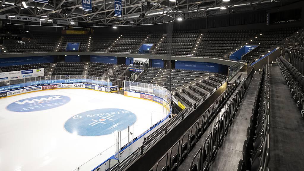 Das Zuger Stadion bleibt auch am kommenden Samstag leer.