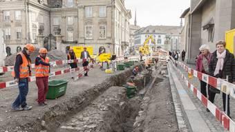 Archäologische Ausgrabungen auf dem Münsterhof