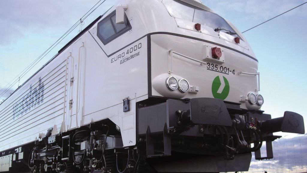 "Künftig aus dem Hause Stadler Rail: Die ""Euro 4000"", die stärkste Diesel-Elektro-Lok Europas. (Handout)"
