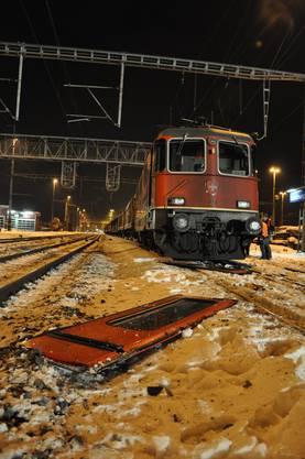 Der Güterzug befand sich auf dem Weg von Zürich-Mülligen nach Däniken SO