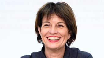 Da kann sie sich freuen: Doppelehrenbürgerin Doris Leuthard