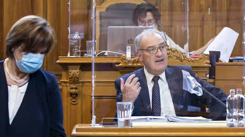 Bundesrat Guy Parmelin steht unter Quarantäne