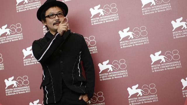"""Himizu""-Regisseur Sono Sion beim Fototermin in Venedig"