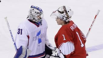 Vor einem Jahr hatte die Schweizer Torhüterin Janine Alder an den Winterspielen an Titelkämpfen für die Schweiz mit einem Shutout gegen Korea debütiert - gegen Russland glänzte sie erneut