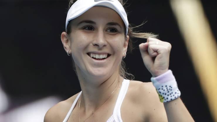 Belinda Bencic startet überzeugend ins virtuelle Tennisturnier von Madrid