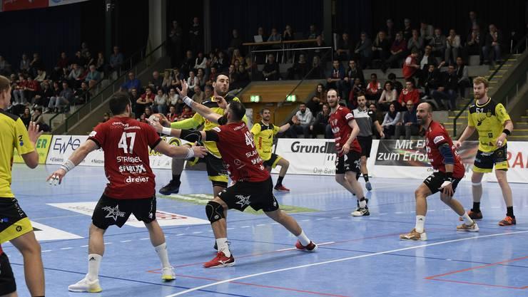 Bis mindestens Ende Jahr sind in den Handball-Hallen keine Zuschauer mehr erlaubt.