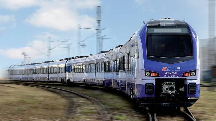 Stadler-Flirt für die polnische Bahngesellschaft PKP Intercity.