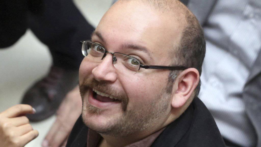 Könnte von einem Gefangenenaustausch profitieren: US-iranischer Journalist Jason Rezaian (Archivbild)