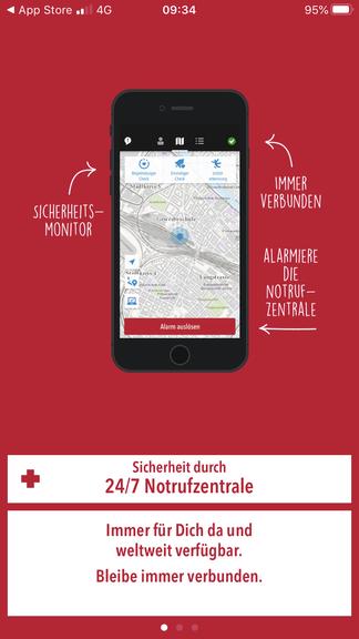 Die Uepaa-App bietet Sicherheit auf Wandertouren.
