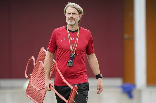 Heute Cheftrainer des FC Aarau und Gegner von Alex Frei: Stephan Keller