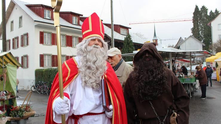 Samichlaus und Schmutzli - am Donnerstag waren sie wieder in der ganzen Schweiz unterwegs