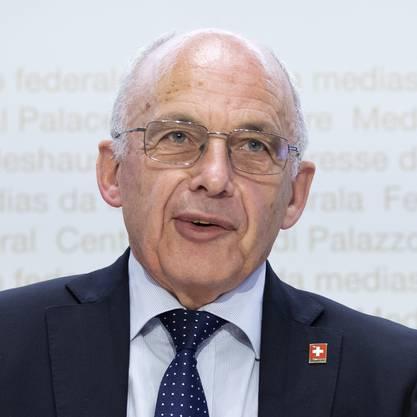 Ueli Maurer. Bundesrat und Vorsteher des Eidgenössischen Finanzdepartements