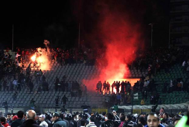 Das Massaker vom 1. Februar 2012: Bei den Ausschreitungen im Stadion von Port Said starben 74 Anhänger von  Al-Ahly.