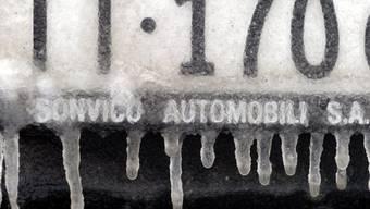 """Der Kanton Tessin hat erstmals Kontrollschilder an einer Auktion versteigert. Die Autonummer """"TI 888 888"""" erzielte dabei mit 35'000 Franken den höchsten Erlös. (Symbolbild)"""