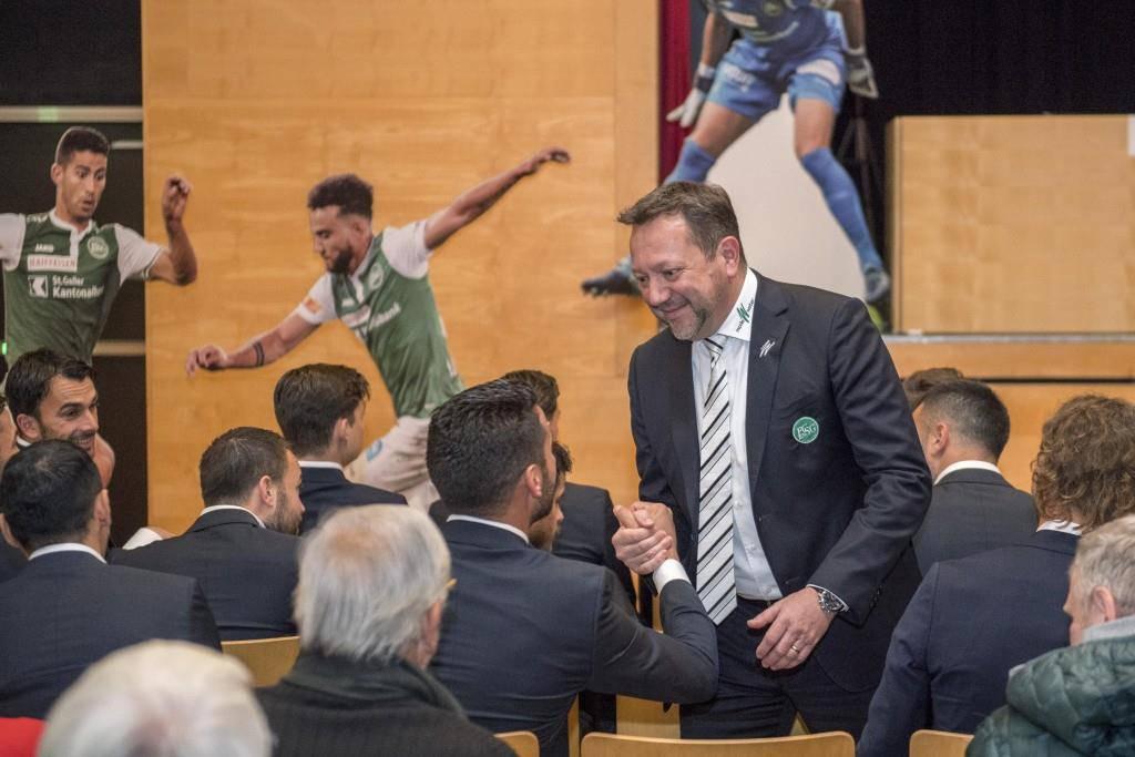 Die GV der FC St.Gallen AG (© Tagblatt/Urs Bucher)