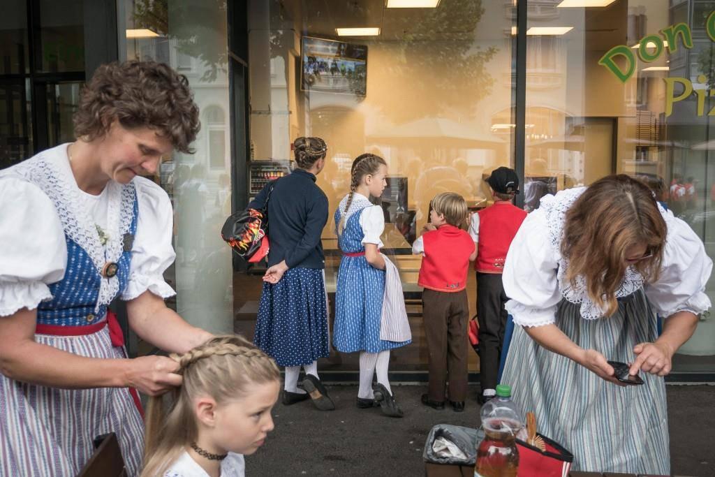 Jodlerfest in Gossau (© Tagblatt)