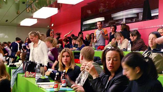 Studenten an der Universität Zürich