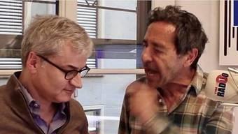 Markus Somm und Roger Schawinski gerieten aneinander: Dieses Bild stammt aus einem Trailer für «Roger gegen Markus».