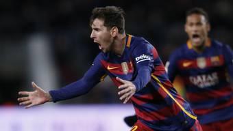 Einmal mehr der überragende Spieler: Barças Lionel Messi