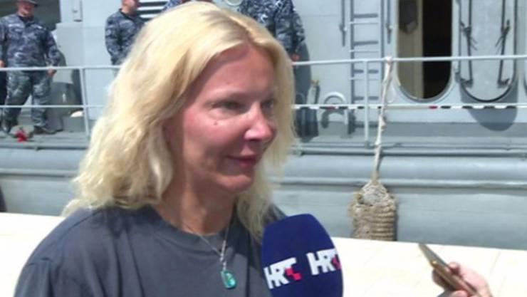 Die britische Touristin gibt nach ihrer Rettung ein erstes Interview.